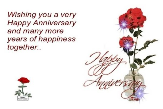 Great Message Anniversary Wishes