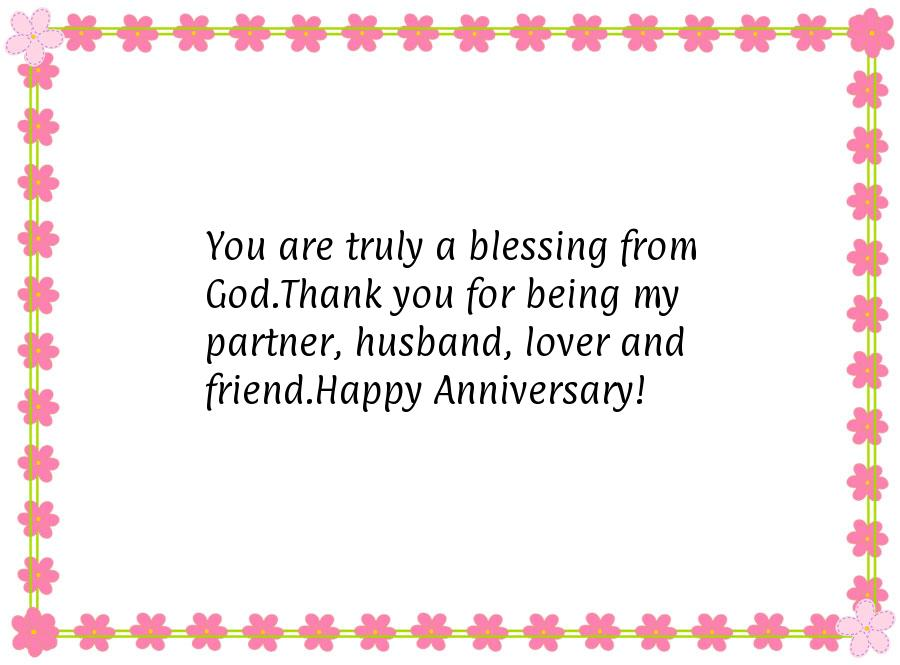 Happy Anniversary Message