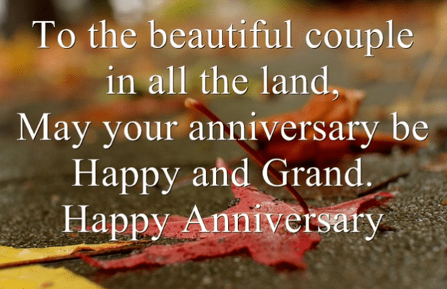 Happy Grand Anniversary Wishes