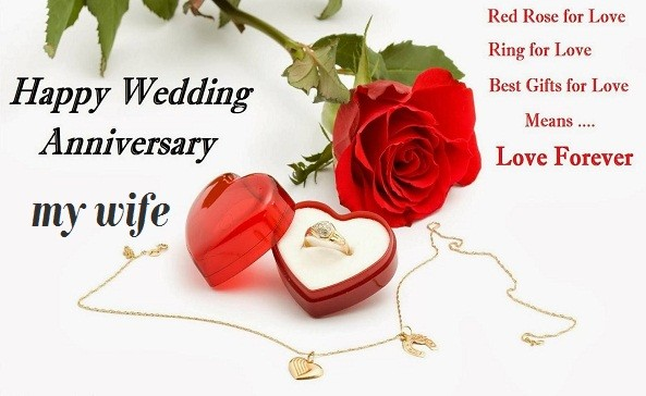 Happy Wedding Anniversary Romantic