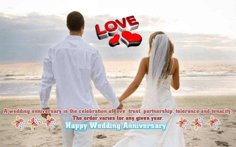 Happy anniversary love couples wish