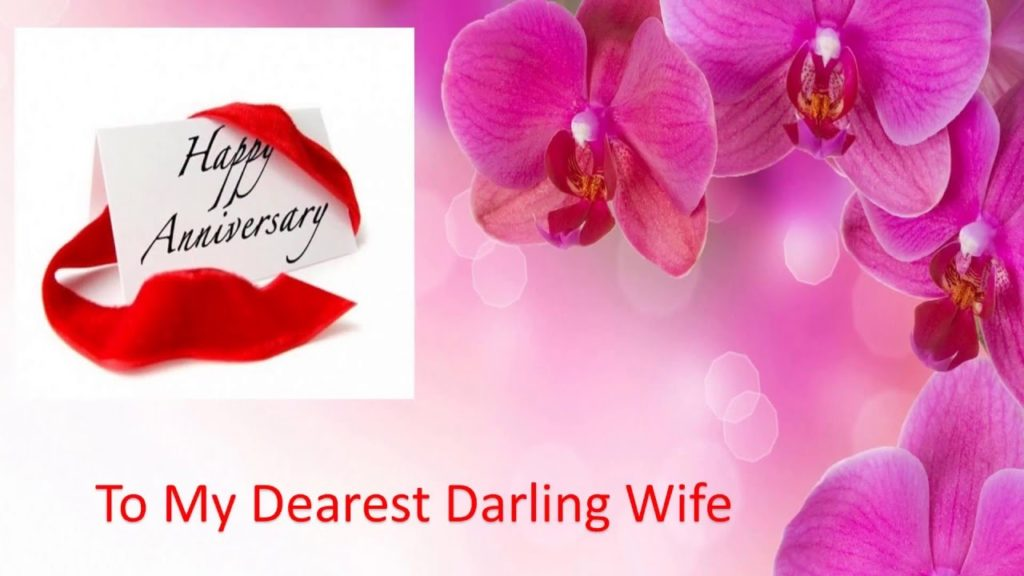 Romantic Anniversary Wishes For Wife