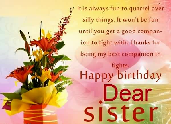60TH BIRTHDAY GREETINGS FOR MY SISTER