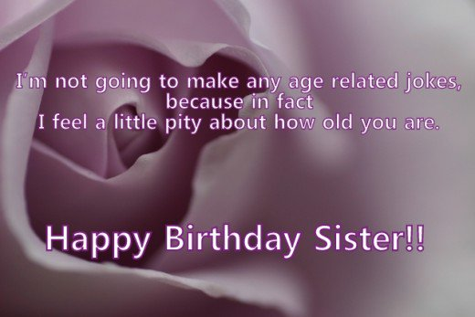Cute Birthday Quotes for Sister