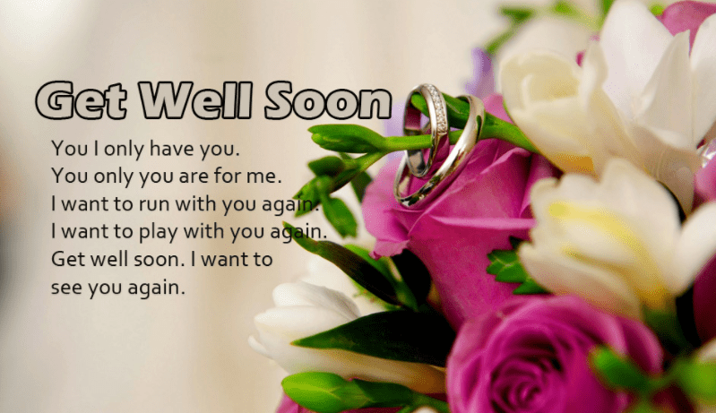 Get Well Soon For Friend