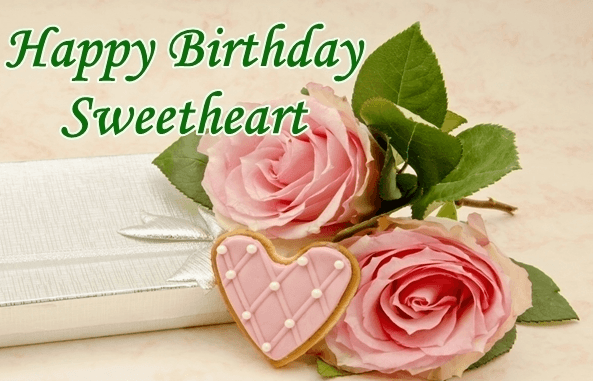 Birthday wishes to sweet heart
