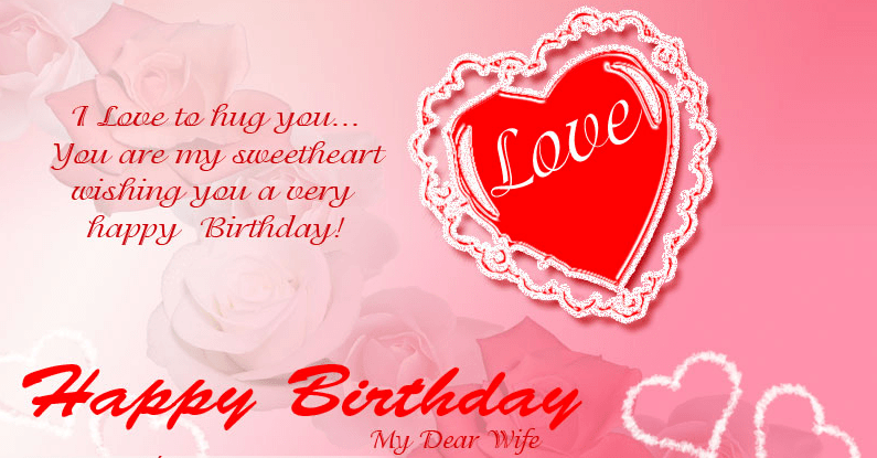 Happy birthday sweetheart wishes to inspire lover romantic birthday wishes for lover m4hsunfo