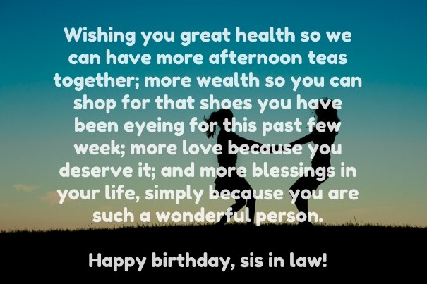 Happy birthday sister quotes and wishes sentimental birthday greetings for sisters m4hsunfo