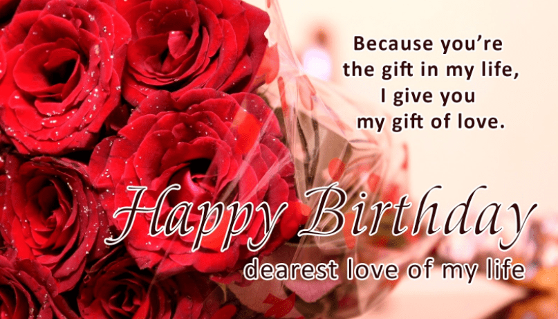 Happy Birthday Sweetheart Wishes To Inspire Lover