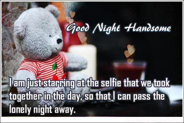 GoodNight Quotes For Him on Good