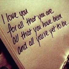 love quotes cute for him