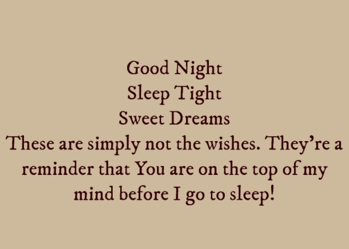 Sweet Goodnight Quotes For My Boy