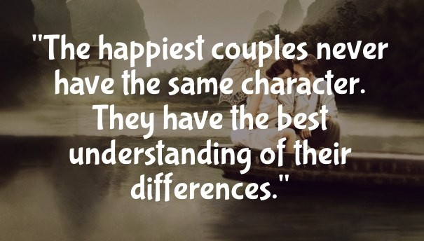 the happiest couples never