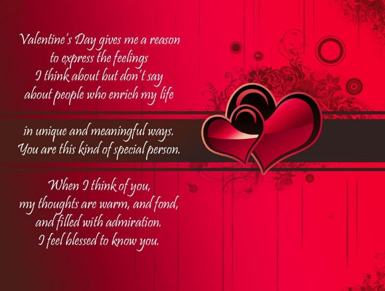 Happy Valentines Card Messages