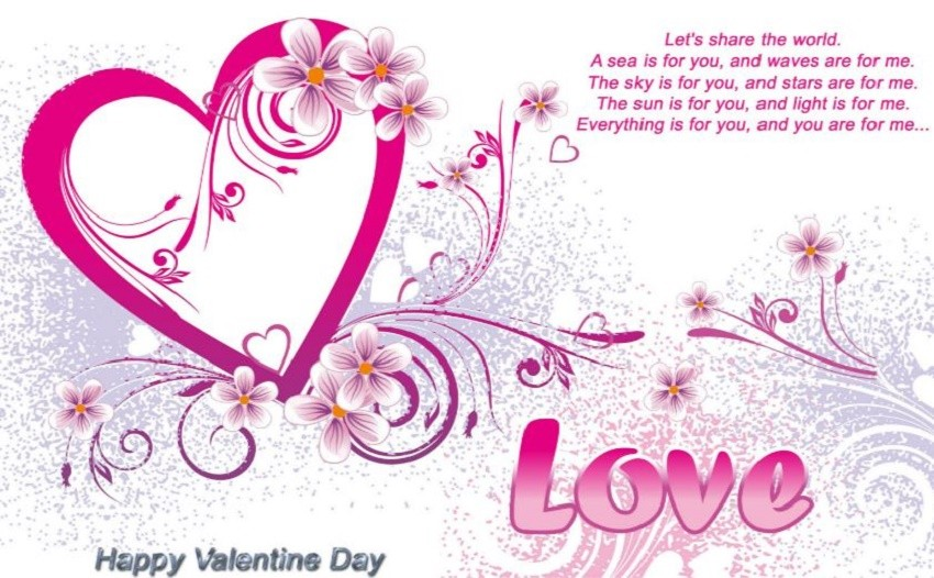 Happy Valentines Day Quotes Wishes Messages For Him Her