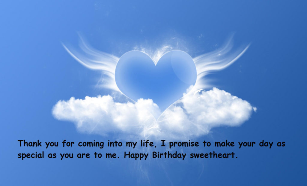 Birthday Romantic Wishes For My Love