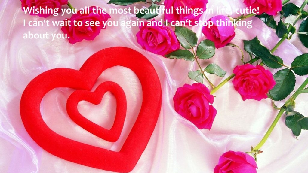 Cute Birthday Wishes Images For Girlfriend