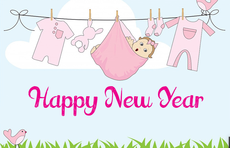 funny happy new year 2019 images for children friends