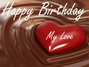Happy Birthday Best Wishes For My Love