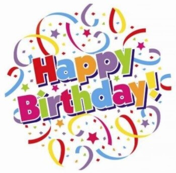 Happy Birthday Wishes Clipart Images