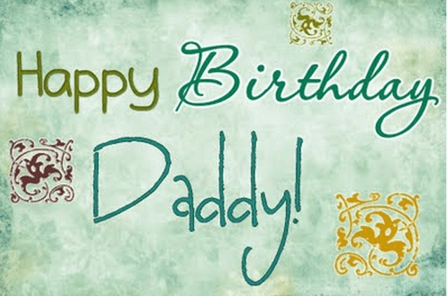 Happy Birthday Best Wishes For Dad