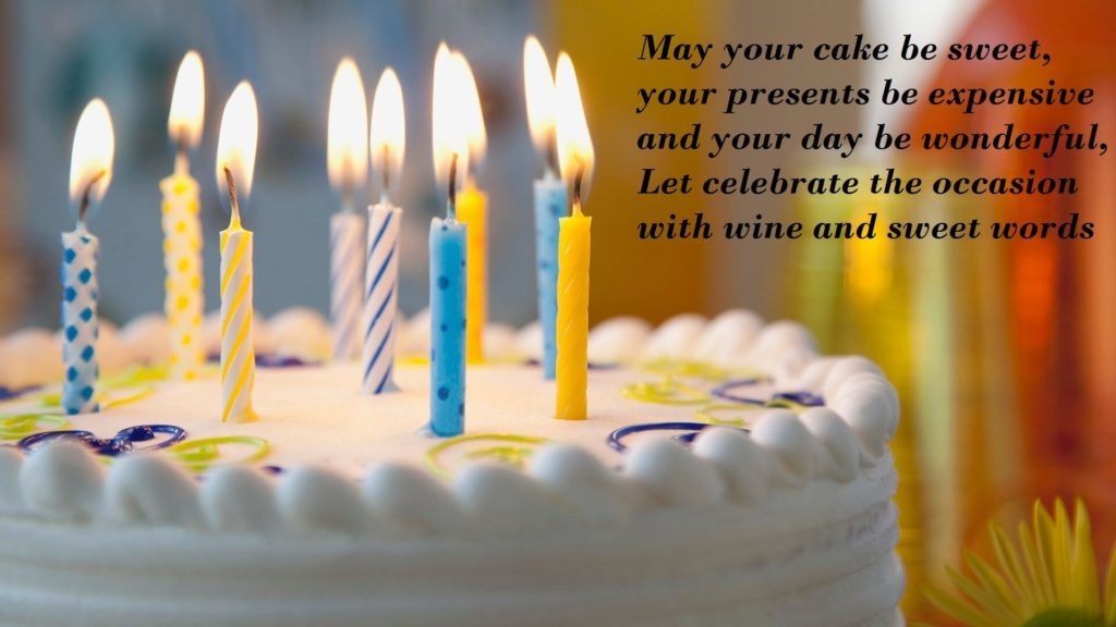 Birthday Cake Wishes With Photos Pic Images