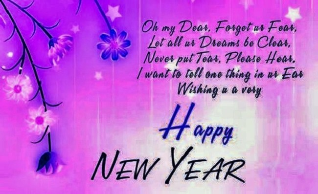 Happy New Year Greetings Boyfriend 2019 Download