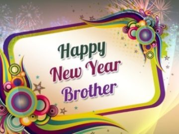 Happy New Year Greetings Brother 2019