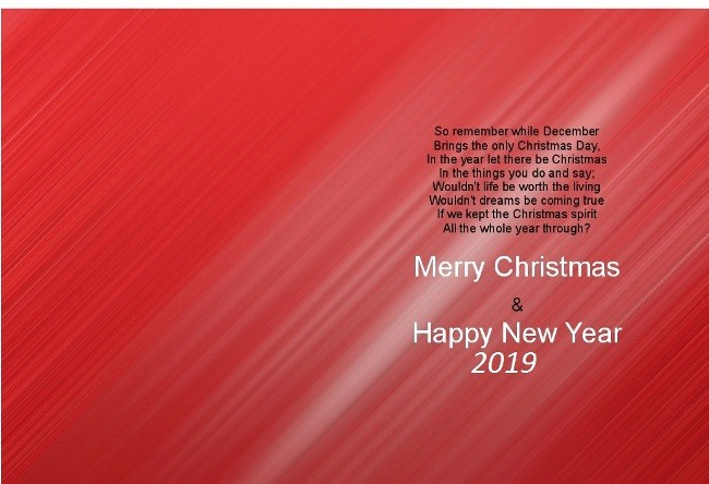 happy new year greetings card with name 2019 download