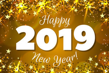 Happy New Year Greetings and Images 2019