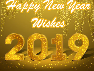 Happy New Year Greetings at Work 2019