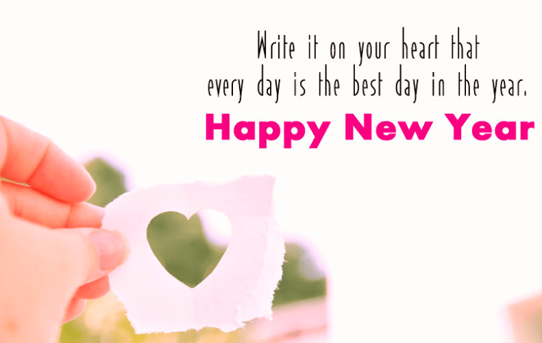 Happy New Year Love Quotes Images