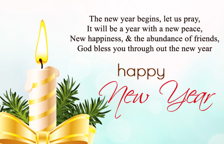 Happy New Year Wishes Messages for Friends & Family
