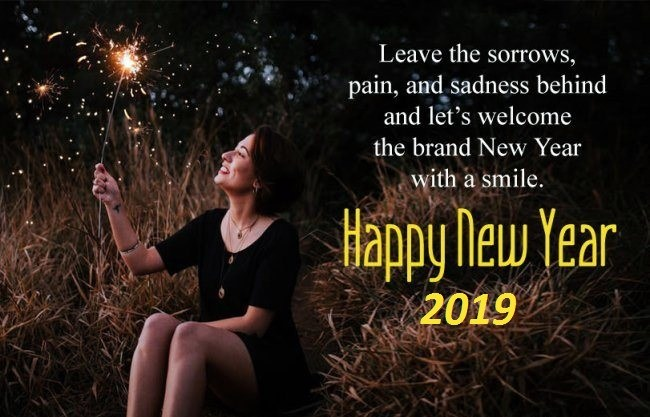 Happy New Year Quotes and Images for Facebook 2019 to Post