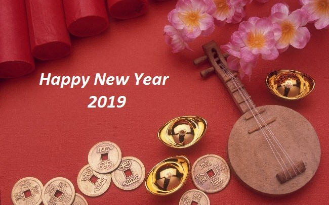Happy New Year Wallpaper Chinese 2019 Free to Download