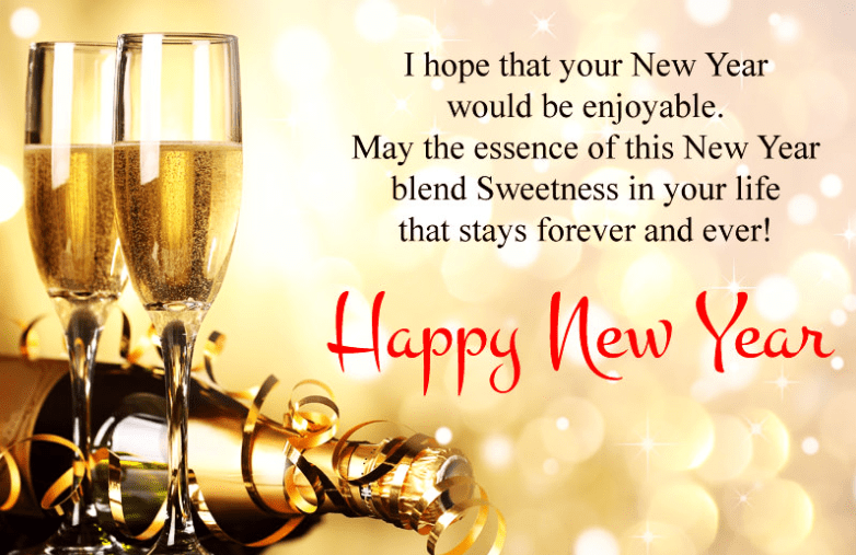 Happy New Year Wishes Images in HD
