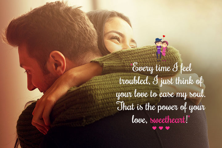 Romantic Love Quotes For My Sweetheart