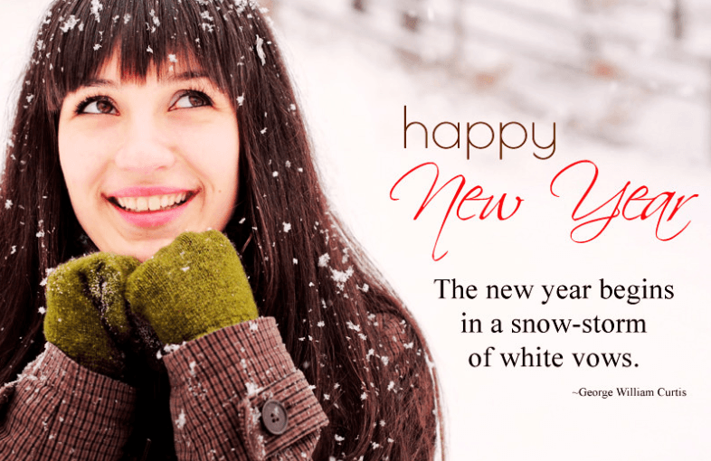 New Year Cute Quotations