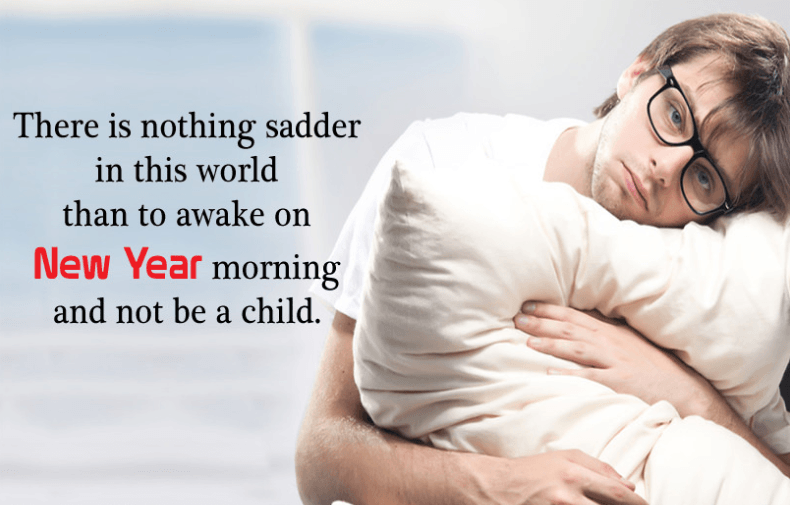 New Year Sad Quotes and Images