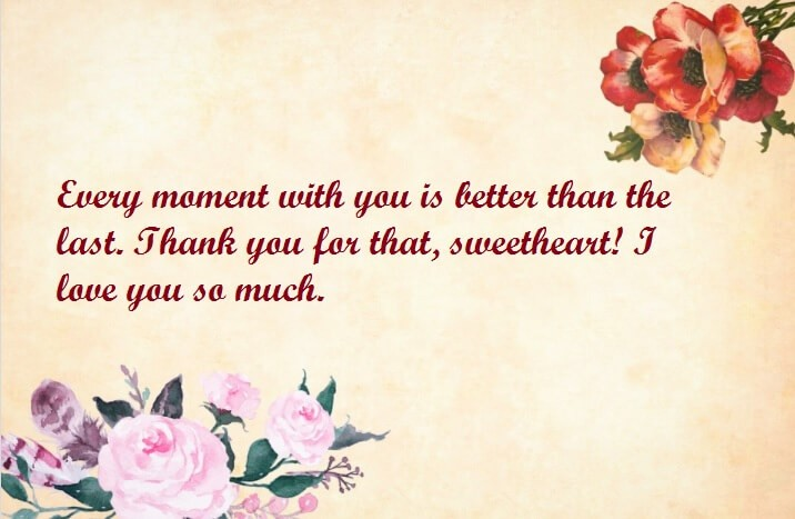Romantic Love Quotes Wishes For Wife