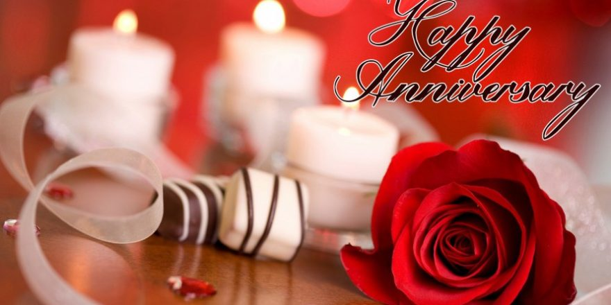 Wedding Anniversary Gifts With Wishes For Wife