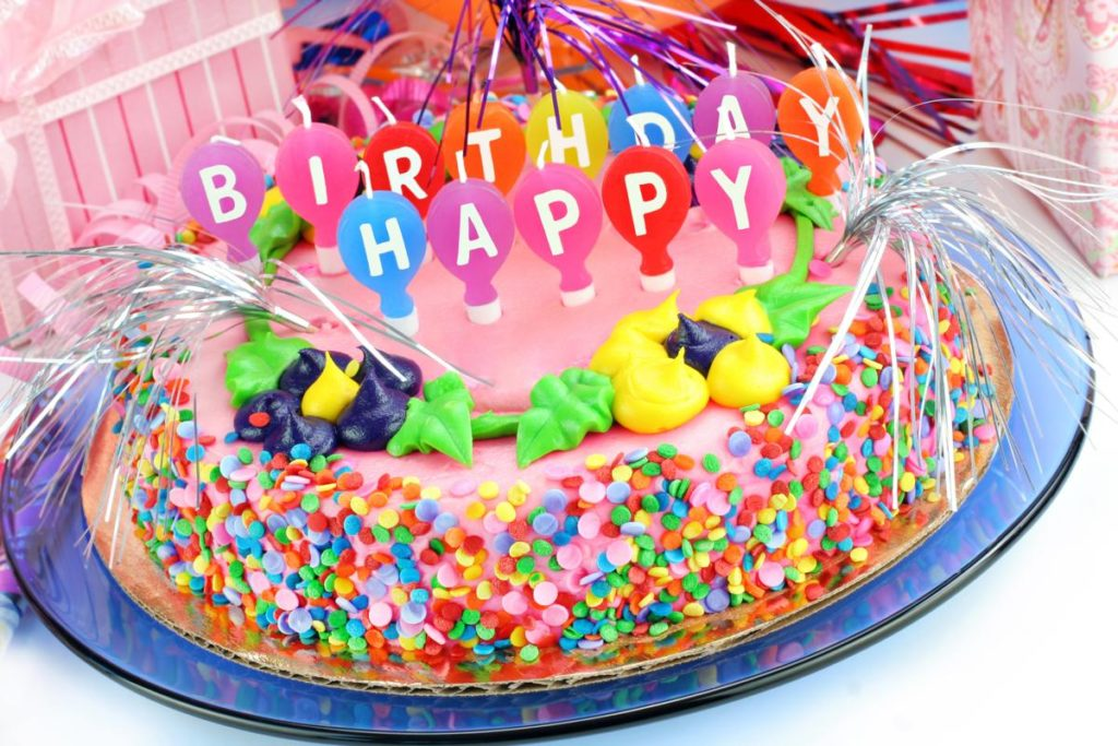 baby girl birthday cute cake wishes