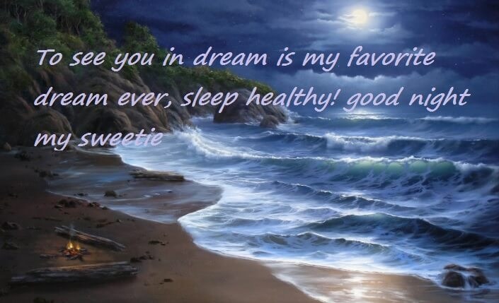 Cute Romantic Gud Nite Wishes For Her