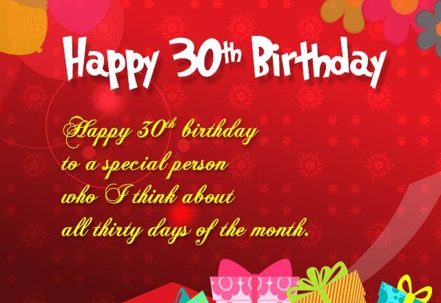House of quotes happy 30th birthday wishes for husband m4hsunfo