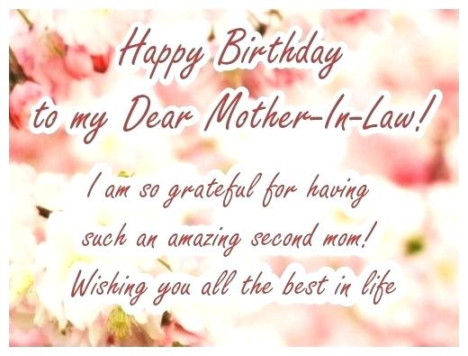 100 best happy birthday mother in law wishes and quotes