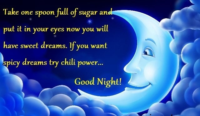 List Of good Night Messages For Girlfriend