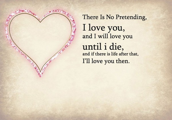 Love Quotes For Him From Heart
