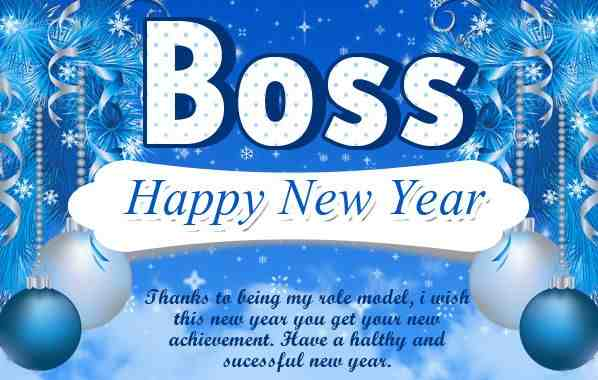 New Year Wishes Quotes For Boss
