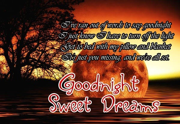 Good Night Wishes For Girlfriend - Romantic Good Night Messages