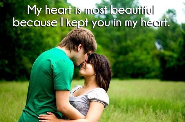 Most romantic lines for him